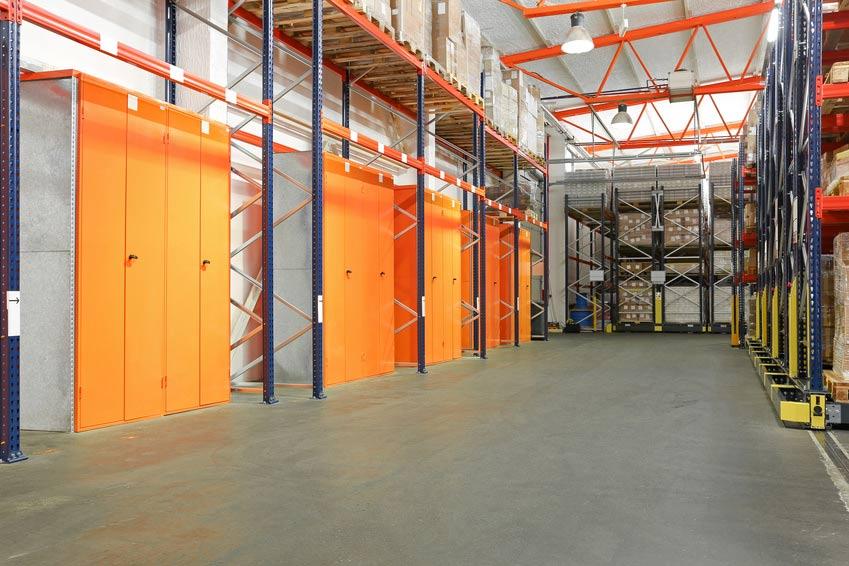 Betriebsausstattung vom Baufachmarkt Volberg