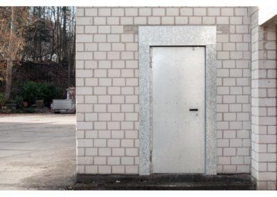 Baustellentür von Volberg